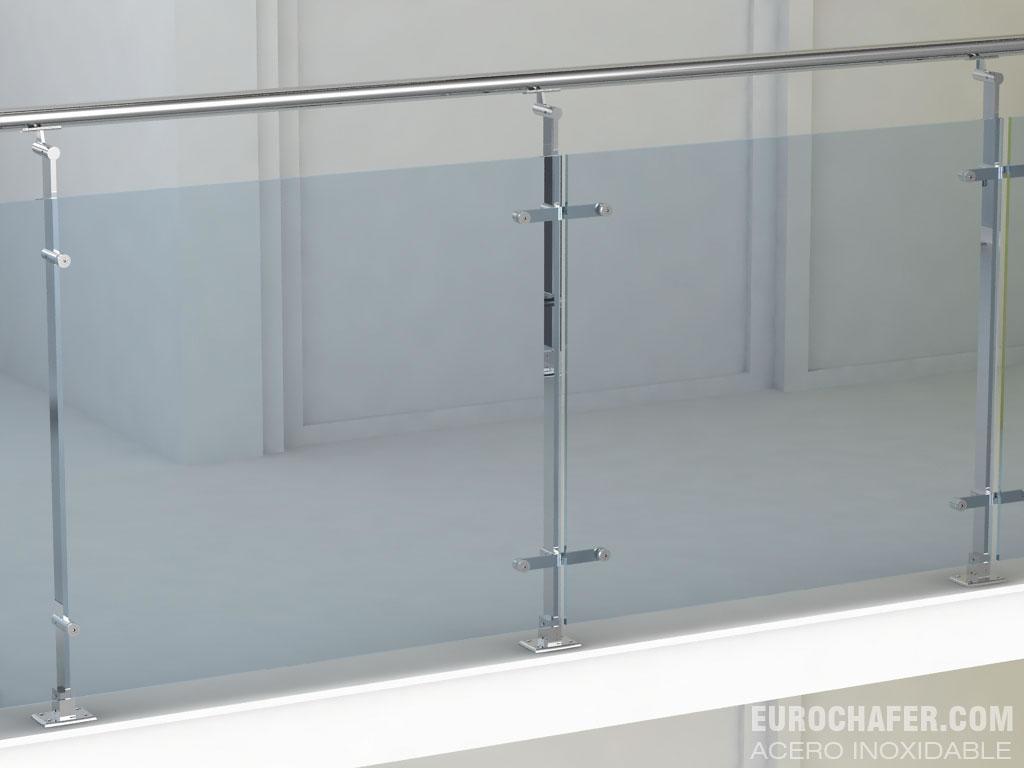 Euro chafer barandillas y accesorios de acero inoxidable for Barandillas de acero inoxidable y cristal